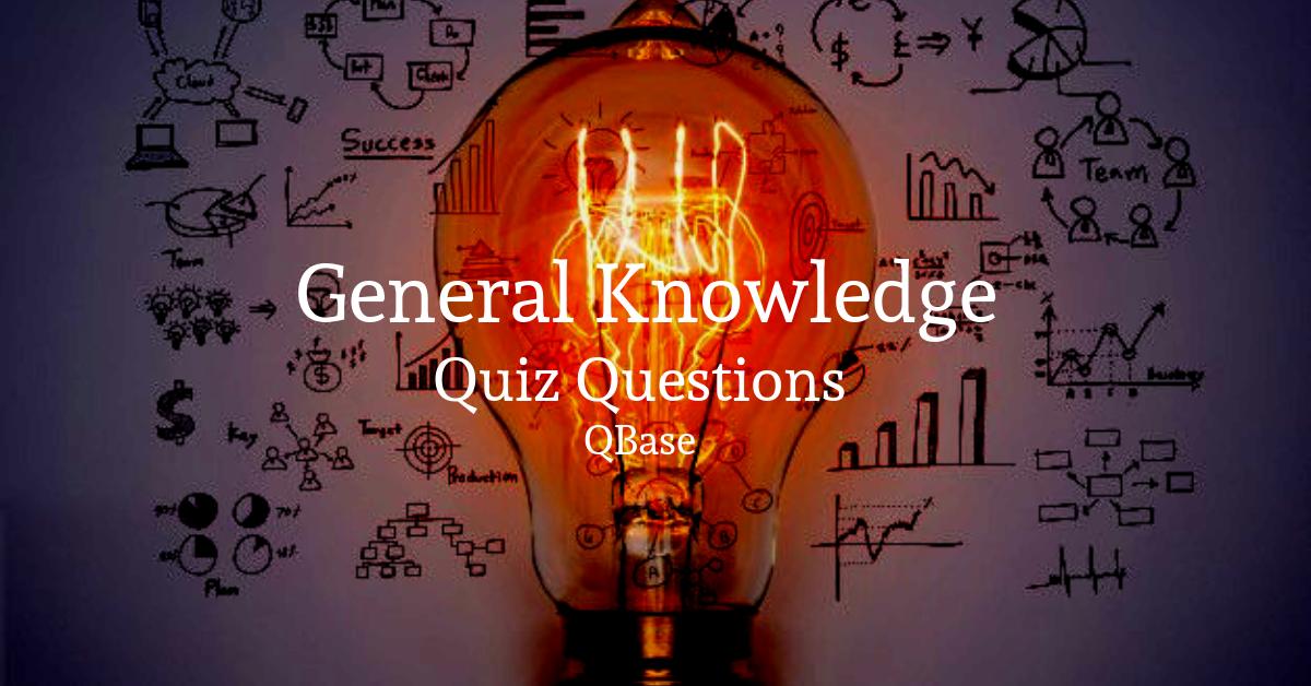 GK Quiz Questions