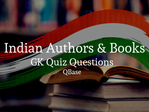Indian authors and books GK Quiz